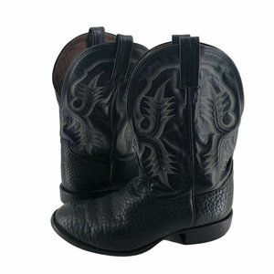 Tony Lama Mens 9EE Leather Western Cowboy Boots